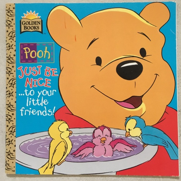 """""""Pooh: Just Be Nice… To Your Little Friends!"""" Book"""